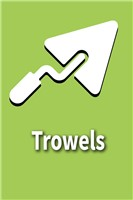 Trowels and Scrapers