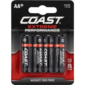 COAST Extreme Performance AA 4 pack