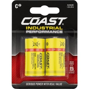 COAST Industrial Performance C Cell 2 pack