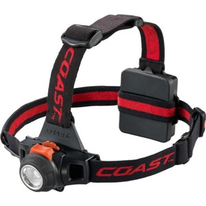 COAST LED Head Torch 330 Lumens Try-me