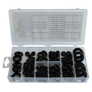 NORMEX 110pc Rubber Grommet Assortment