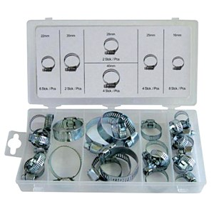 NORMEX 26pc Hose Clamp Assortment