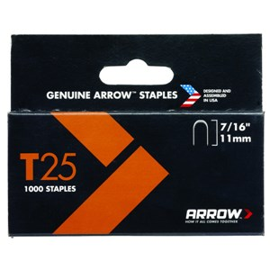 "ARROW T25 7/16""-11mm 1000 Staples"