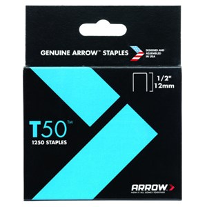 "ARROW 50824/T50 1/2""-12mm 1250 Staples"