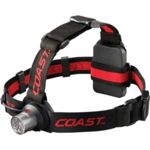 COAST Head Torch 145 Lumens White/Red
