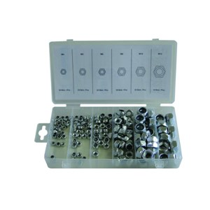 NORMEX 150pc Locknut Assortment Metric