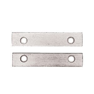 PANAVISE PLATED STEEL JAWS W/SCREWS
